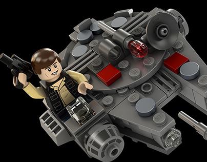 Lego Box Art Renders