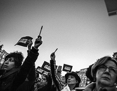 Tributes Charlie Hebdo @ Porto 2015