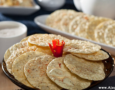 Food Concept PhotoShoot For Shree Ram Papads Pvt. Limit