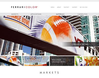 Ferrari Color Website