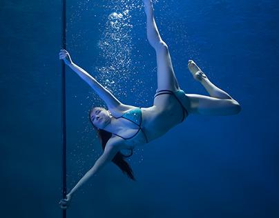 Underwater Pole Fitness/Dance (X-Pole)