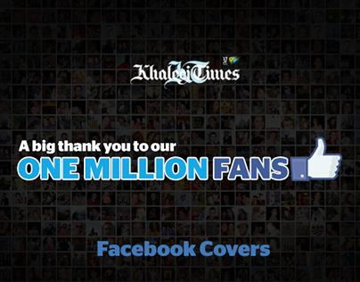 Khaleej Times 1M Fans Facebook Cover