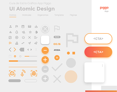2020 GRAPHIC STYLE GUIDE :: Atomic Design methodology