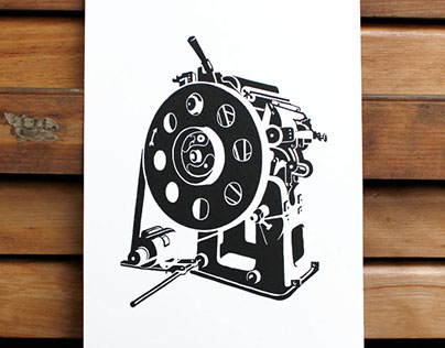 Vicobold Print: letterpress, illustration & printmaking