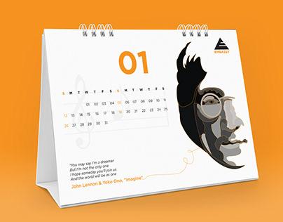 2020 Calendar option - Illustration - Embassy