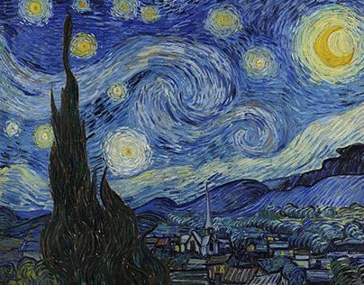 The Starry Night Grunge