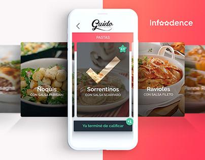 Infoodence | Brand+UX&UI+App