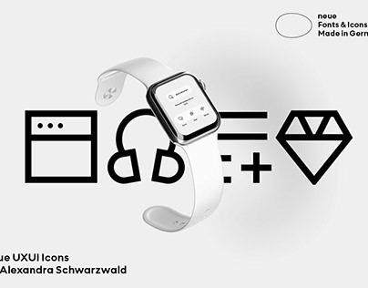 neue UX UI Icons by Alexandra Schwarzwald