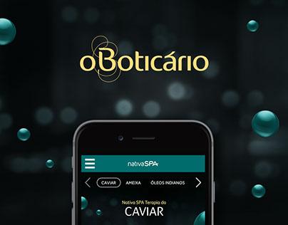 O Boticário - Terapia do Caviar