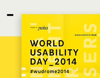 World Usability Day Rome 2014