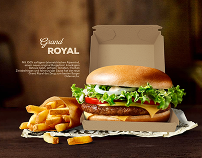 Grand Royal Website