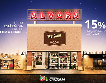 Campanha de Alvará - Prefeitura de Criciúma