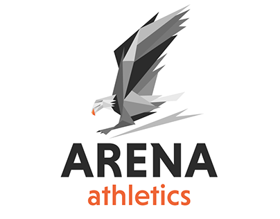 Logo for athletics clothing brand