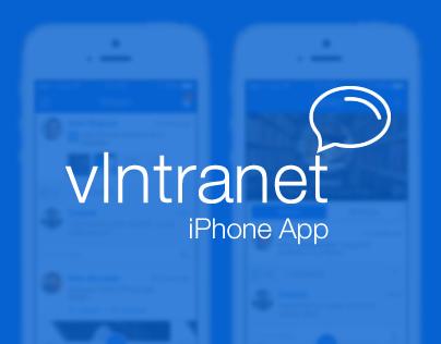 vIntranet -An Enterprise Social Network iPhone App