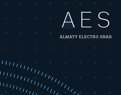 AES logo & branding