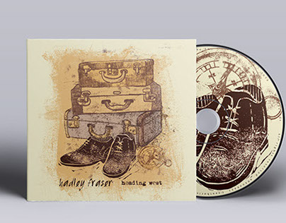 Hadley Fraser- Album design