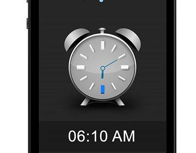 IOS Alarm app