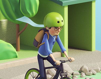 Outside / Short Animation