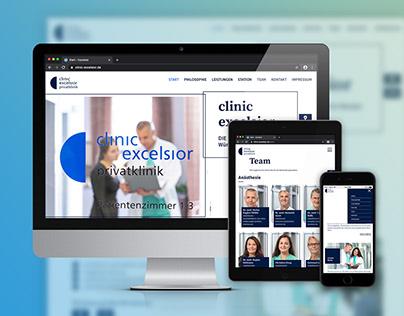 Clinic Excelsior – Webdesign