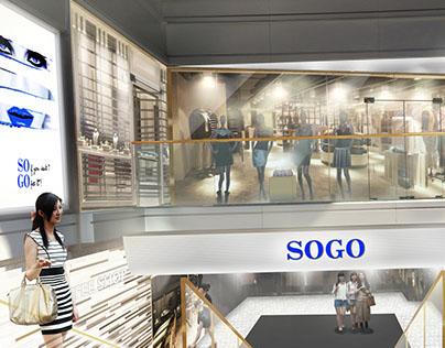 Sogo, Hong Kong