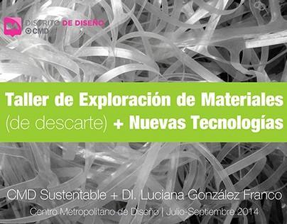 Workshop at CMD - Centro Metropolitano de Diseño