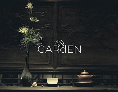 Garden Tea House branding & Landing Page