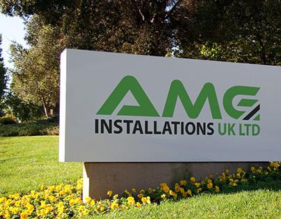 AMG Installations UK LTD Logo Design