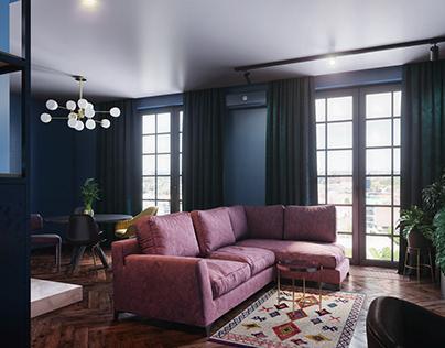Blue Fade Interior Design
