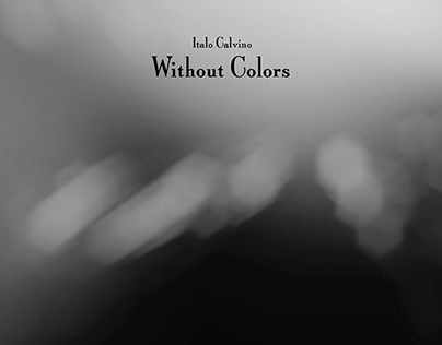 Cosmicomics: Without Colors (Motion & Book Design)