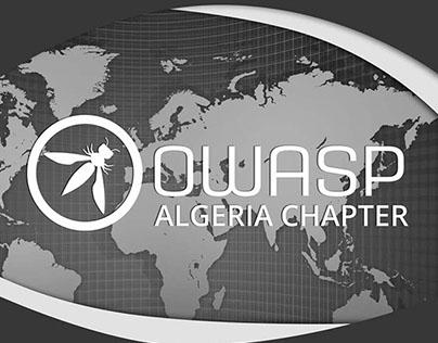 OWASP Algeria Stand banner