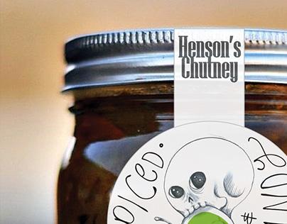 Chutney Label