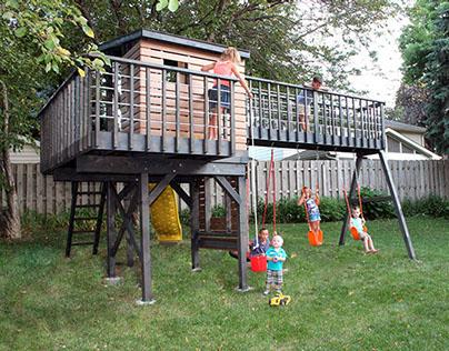 Kids Play: The Modern Way (Modern Swingset Design)