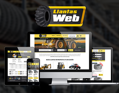 LlantasWeb Responsive Website