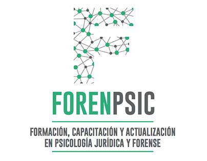 Imagen corporativa y carteles para Forenpsic.