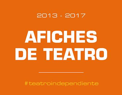Afiches de Teatro