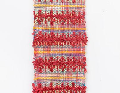 Weaving Samples: 8 Harness Loom