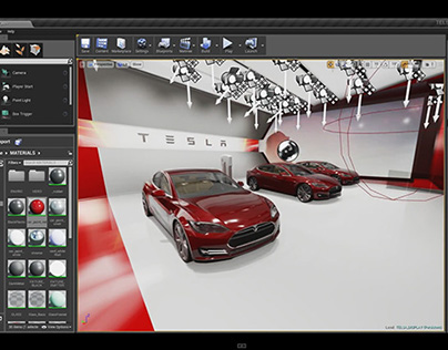 REAL-TIME R&D DEMONSTRATION (UNREAL ENGINE 4.5)