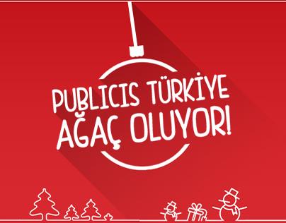 Publicis Türkiye Ağaç Oluyor!