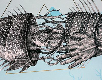 """Alexis Diaz """"Dentro"""" - Fine Art Print"""