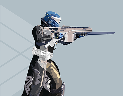 Warlock from Destiny: The Game