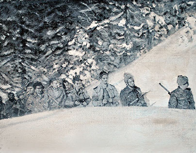 "Axel Void ""1944"" - Screen Print"