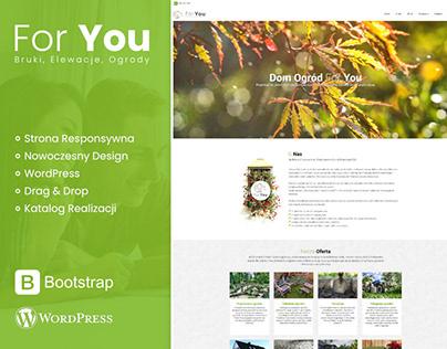 Strona Internetowa For You