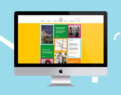 Website for Villa Outlet Center