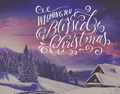 Lettering - Winter Holidays 2014