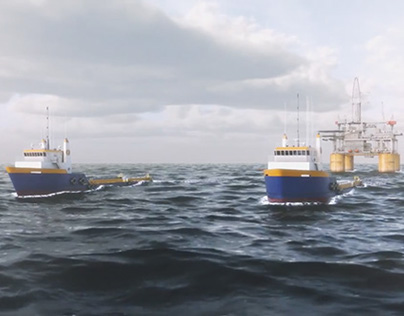 CG Open Ocean Shot for Horizon Marine