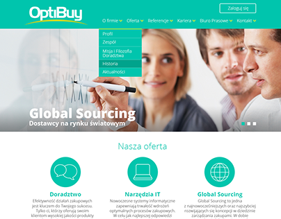 OptiBuy new website