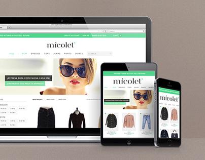 MICOLET, identidad corporativa y web