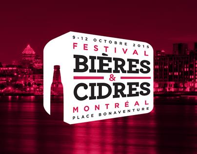 Festival Bières & Cidres de Montréal