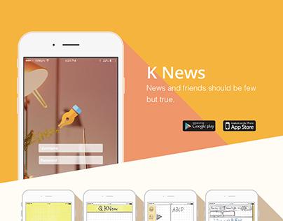 Knews  UI design