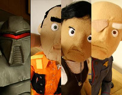 Battlestar Galactica Puppets